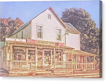 Antique Store, Colonial Beach Virginia Canvas Print