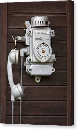 Antique Telephone Canvas Print by Jaak Nilson