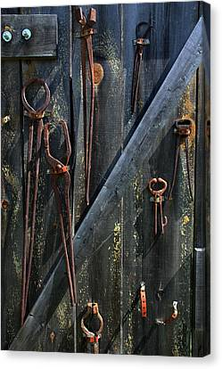 Antique Tools Canvas Print by Joanne Coyle