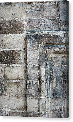 Canvas Print featuring the photograph Antique Wall Detail by Elena Elisseeva