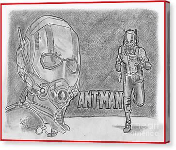Antman Canvas Print by Chris DelVecchio