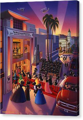 Ant Canvas Print - Ants Awards Night by Robin Moline