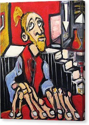 Anxiolytic  Canvas Print by Jon Baldwin  Art