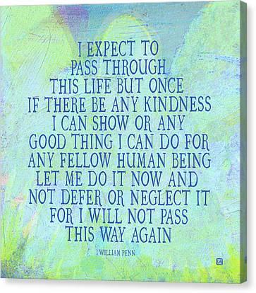 Any Good Thing Canvas Print by Lisa Weedn