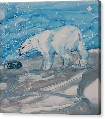 Anybody Home? Canvas Print by Ruth Kamenev