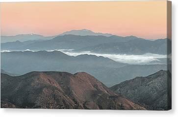 Anza-borrego Morning Canvas Print