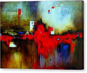 Apariencias Canvas Print by Thelma Zambrano