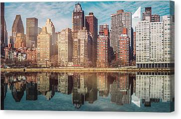 Apartment Blocks  Canvas Print
