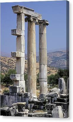 Aphrodisias Canvas Print - Aphrodisias Aphrodite Temple by Bob Phillips