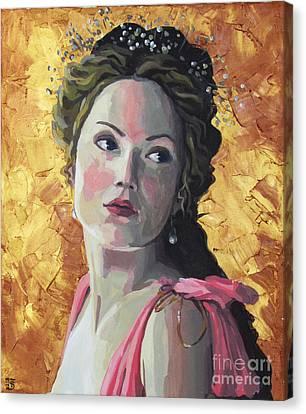 Aphrodite Canvas Print by Kateryna Bortsova