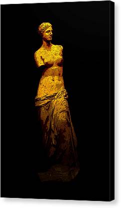 Aphrodite Of Milos Canvas Print