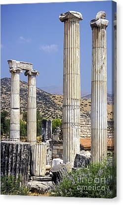 Aphrodisias Canvas Print - Aphrodite Temple Ruins by Bob Phillips