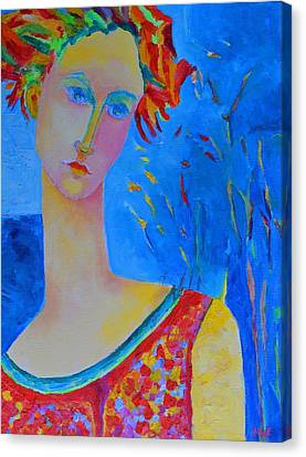 Aphrodite's First Love Canvas Print by Magdalena Walulik