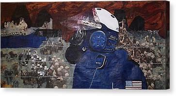 Apocalypse 2 Canvas Print by William Douglas