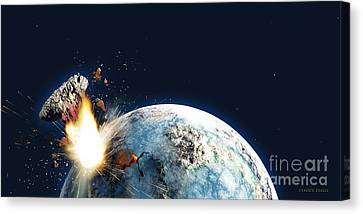 Horrible Canvas Print - Apocalypse by Corey Ford