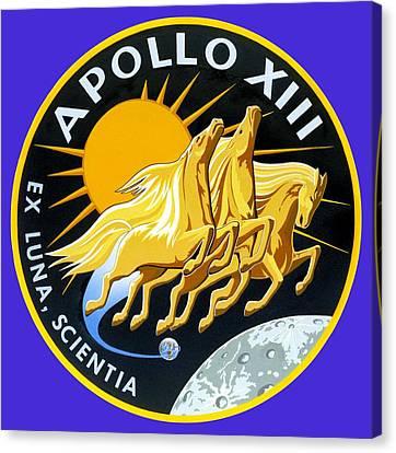 Apollo 13 Canvas Print by Otis Porritt