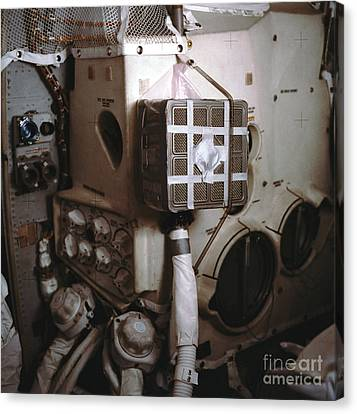 Apollo 13s Mailbox Canvas Print by Nasa