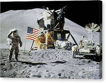 Apollo 15: Jim Irwin, 1971 Canvas Print by Granger