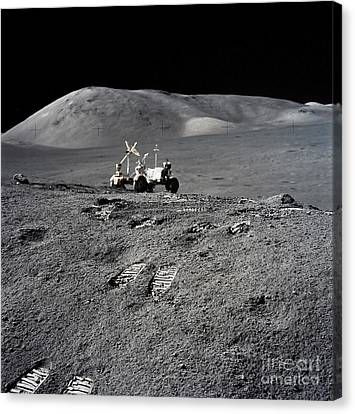 Mars Moon Walk on 16\u00d720 canvas