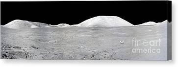 Apollo 17 Panorama Canvas Print by Stocktrek Images