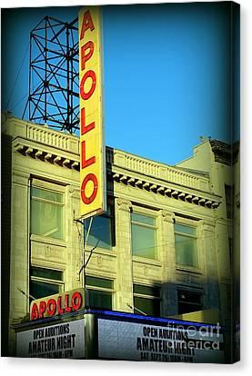 Apollo Theater Canvas Print - Apollo Vignette by Ed Weidman