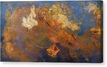 Apollo's Chariot Canvas Print by Odilon Redon