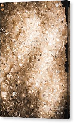 Apophyllite Mineral Background Canvas Print by Jorgo Photography - Wall Art Gallery
