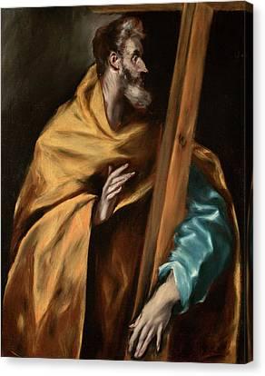 Apostle Saint Philip Canvas Print by El Greco