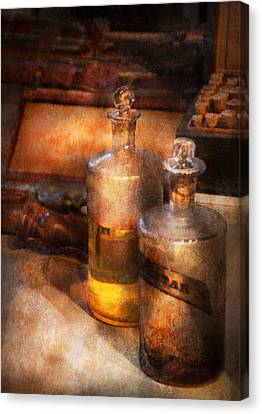 Apothecary - Special Medicine  Canvas Print by Mike Savad