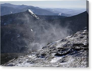 Appalachian Trail - Franconia Ridge-white Mountains New Hampshire Canvas Print by Erin Paul Donovan
