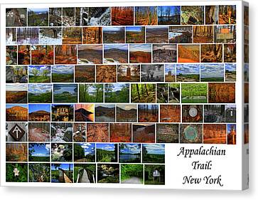 Canvas Print - Appalachian Trail New York by Raymond Salani III