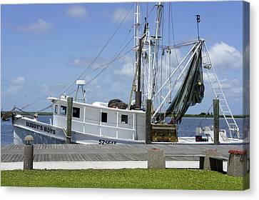 Appalachicola Shrimp Boat Canvas Print