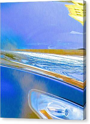Apparition 2 Abstract Canvas Print