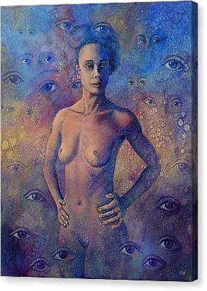 Apparition Canvas Print by Miguel Tio