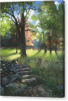 Applaclacian Spring Canvas Print by Michael Malicoat