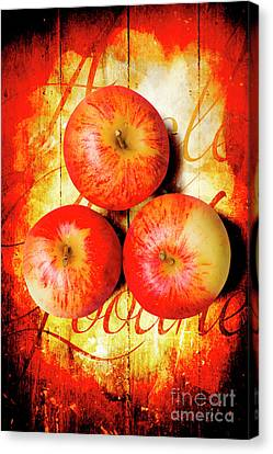 Apple Barn Artwork Canvas Print