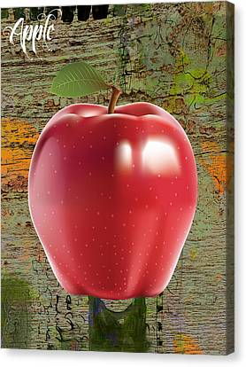 Fruits Canvas Print - Apple Collection by Marvin Blaine