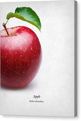 Apple Canvas Print by Mark Rogan