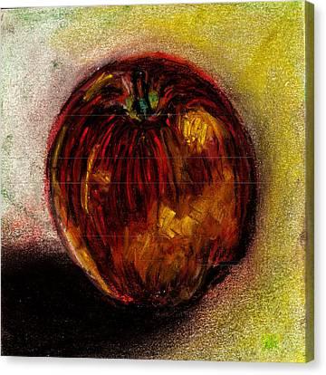 Apple  Canvas Print by Rashmi Rao