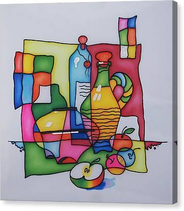 Apple Wine Canvas Print by Tatiana  Antsiferova