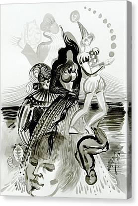 Applefest Canvas Print by Inga Vereshchagina