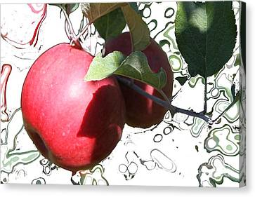 Canvas Print - Applelicious by Nu Art