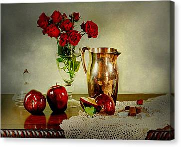 Apples And? Canvas Print