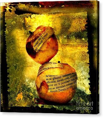 Nourishment Canvas Print - Apples by Bernard Jaubert