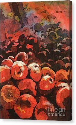 Apples Galore Canvas Print by Ryan Fox