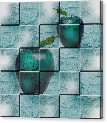 Apples Canvas Print by Katy Breen