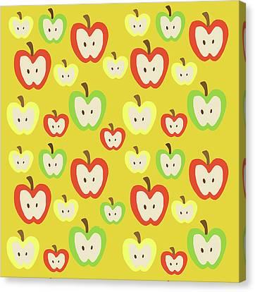 Apples Canvas Print by Nicole Wilson