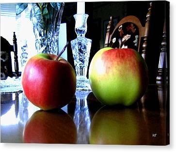 Apples Still Life Canvas Print by Will Borden