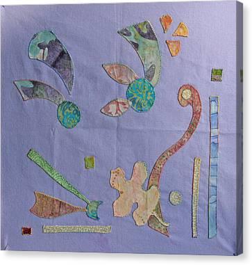 Applique 3 Canvas Print by Eileen Hale