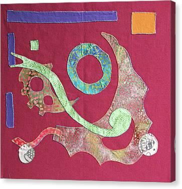 Applique 6 Canvas Print by Eileen Hale